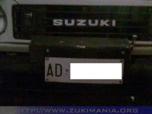foto installazione verricello elettrico suzuki samurai
